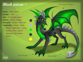 Black poison ref sheet by Rorita-Sakura
