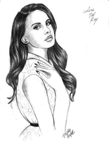 Lana Del Rey by DeadlyAngel-Drawings