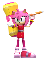 Sonic boom Amy Render! by Nibroc-Rock