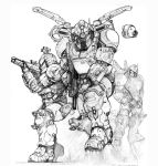RIFTS NG Enforcer Guardsmen Power Armor by ChuckWalton