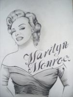 marilyn monroe by tr3slibras