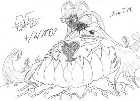 Parasite Eve's Eve as a Heartless by 4xEyes1987