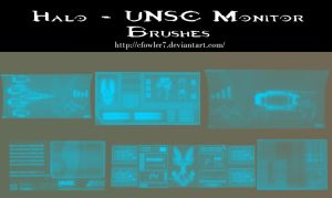 PS Brushes - UNSC Montiors by cfowler7
