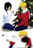 Merry Christmas Naruto by Feiuccia