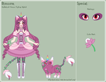 UT - Blossom Reference Sheet by porcelian-doll