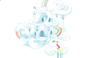 Rainbow Dash's house Vector by Darkkon13