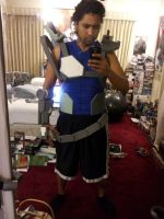 Strider Hiryu Cosplay WIP 3 by LunarMATIQUE