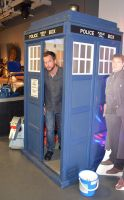 Gareth David-Lloyd in the TARDIS (2) by masimage