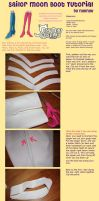 Sailormoon Boot Trim Tutorial by nyunyucosplay