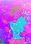 I know this pretty rave girl by CreativeSilence