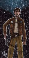 Captain Cassian Andor by Phraggle