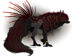 Quilldog Design: Magnetic Magma (CLOSED) by MischievousRaven