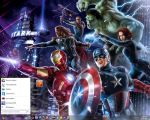 Win7 The Avengers Theme by DasGingerBreadMan