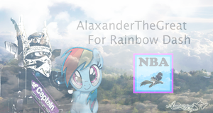 ROBLOX National Brony Army- Alax for Rainbow Dash! by BCMmultimedia