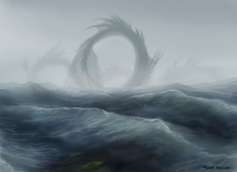 One Big Motha-Sea Serpent by jaxxblackfox