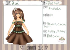 Kemonomimi Cafe  Cocoa Application Filled by RoseofGeeks
