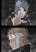 Konan and Yahiko by karka92