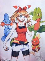May/Aura - Pokemon Omega Ruby and Alpha Sapphire by ilovetheanime