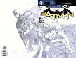 Cover Opps - Batman by werder