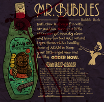 Mr.Bubbles Bubble Bath by bleedlings