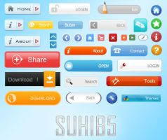 SUHIB5  Web 2.0 Button by sm5