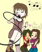 Karaoke time - Soul Eater OCs by Midnight-Calling