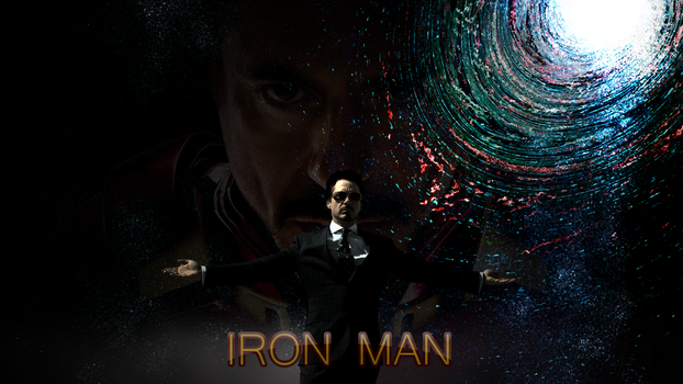 Iron Man background by DrSulfurious