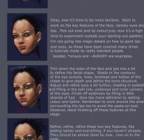 How To Paint A Face - Tutorial by xiaomeimei