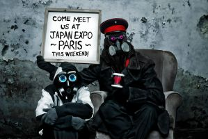 MEET CAPTAIN IN PARIS JAPAN EXPO by alexiuss