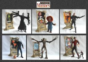 Movie Maniacs Models by mikedaws