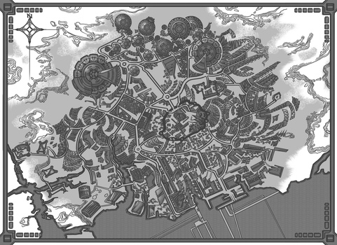 Future City Map by AugustinasRaginskis