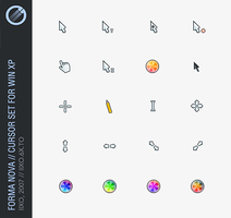Forma Nova, XP cursor set by iixo