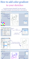 How to add color gradient to your sketches by PastelCake