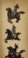 Dragoons charge by Rai-che