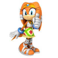 Tikal The Echidna Render, Adventure 1/3 by Nibroc-Rock