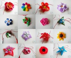 Flower charms by ALINAFMdotRO