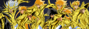 Gold Saints Manga by IkkiSpartan