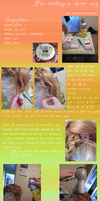 Pin Curling a Short Wig by root-for-theUNDERDOG