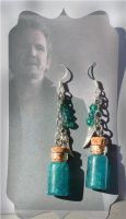 Balthazar's Bottled Grace Earrings by KouranKiyo