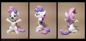 ''OH COME ON!!'' Sweetie Belle 3D Print by Clawed-Nyasu