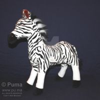 The Lion King - Zebra Plush by dapumakat