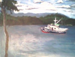Sailing, Sailing on the Open Sea by Jaclyn-1996
