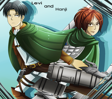 Levi and Hanji by KatInATopHat