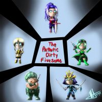 Pathetic Dirty Fivesome by MNS-Prime-21