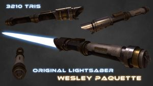 Lightsaber by WesleyPaquette