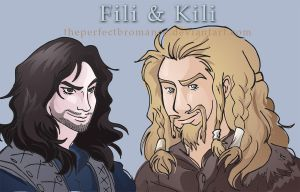 Fili and Kili by theperfectbromance
