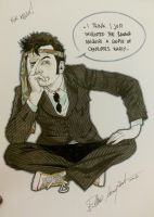 Tenth Doctor commission by elena-casagrande