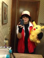 First Red Cosplay by PKMNTrainerJeff