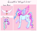 Lucette Character Ref by defigure