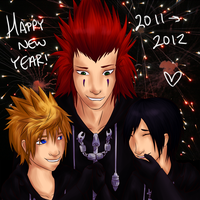 +Happy New Year-- 2011 - 2012+ by Aroselia